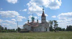 Свято-Никольская церковь в селе Нежнур