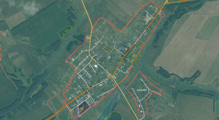 Сотнур — село в Волжском районе