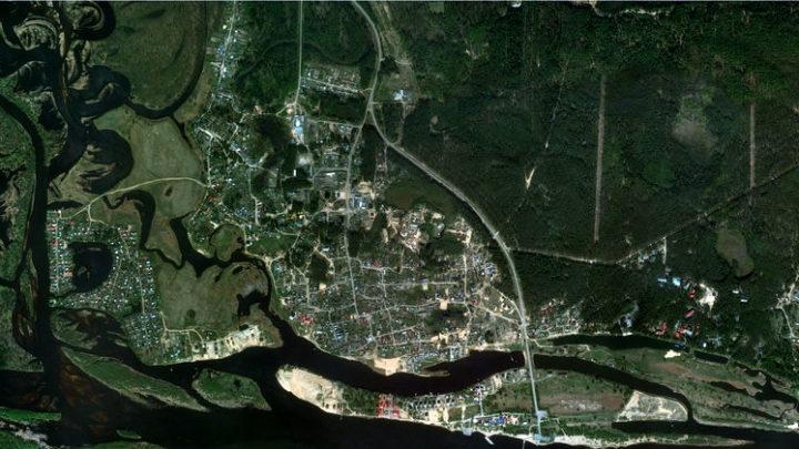 Кокшайск — село в Звениговском районе