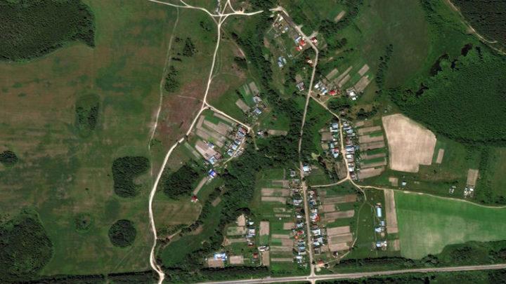 Микушкино — деревня в Волжском районе