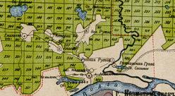 Окрестности деревни Ахперка в 1912 году