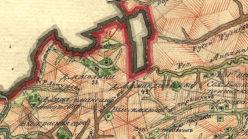 Окрестности деревни Ямолино в 1792 году