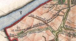 План генерального межевания 1792 года у деревни Копани