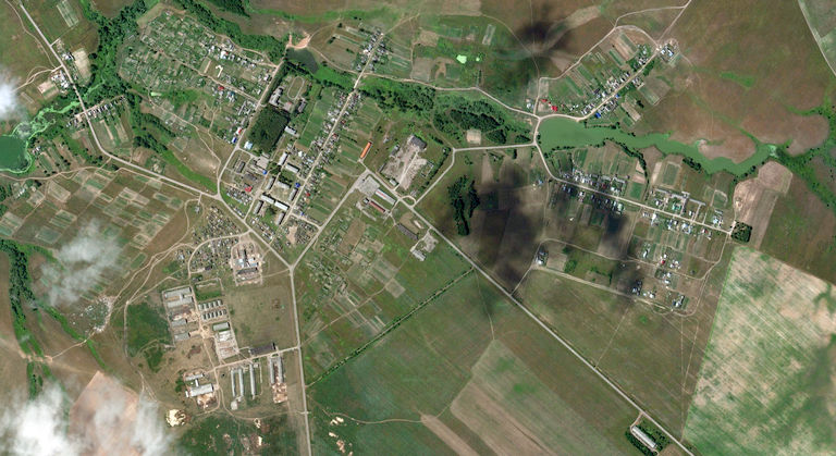 Михайловка — деревня в Советском районе