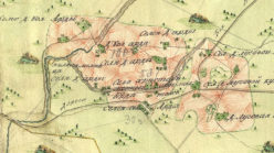 Окрестности села Арда в 1792 году