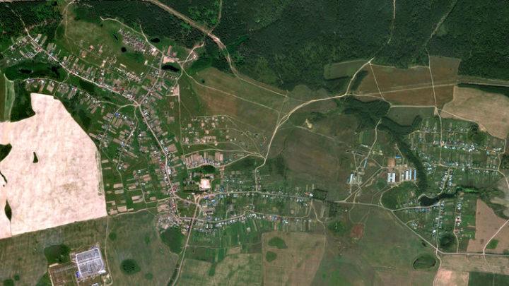 Эмеково — село в Волжском районе