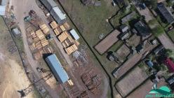 Нижний склад в посёлке Алешкино