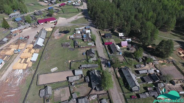 Посёлок Алешкино в Килемарском районе