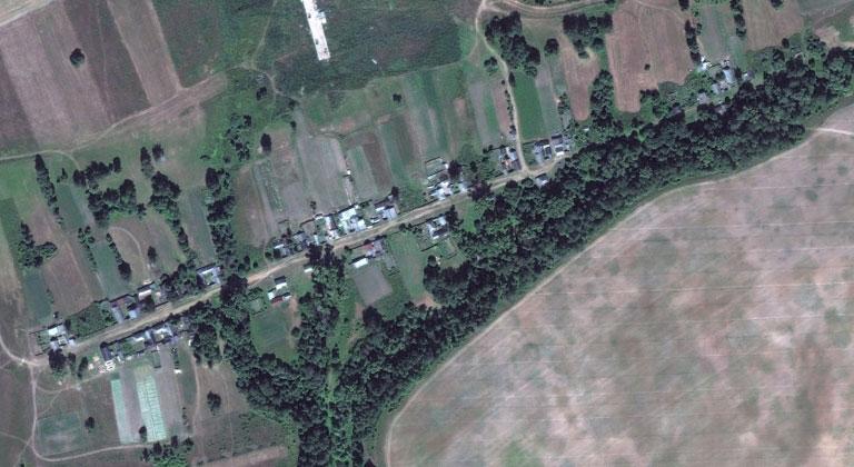 Вошма — деревня в Мари-Турекском районе