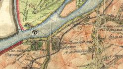 Окрестности села Покровское в 1792 году