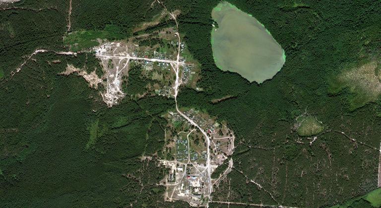 Черное Озеро — посёлок в Звениговском районе