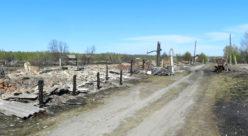 Итоги пожара в деревне Кузьмино Юринского района в мае 2015 года