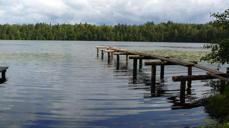 Озеро Малый Мартын — гидрологический памятник природы