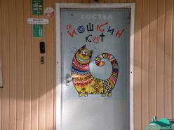 Вход в хостел Йошкин кот